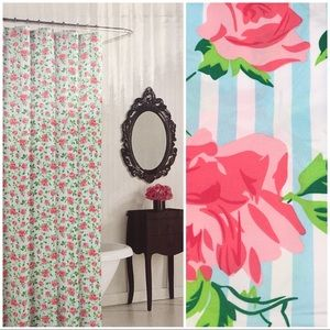 BETSEY JOHNSON Flower Sun Shower Curtain
